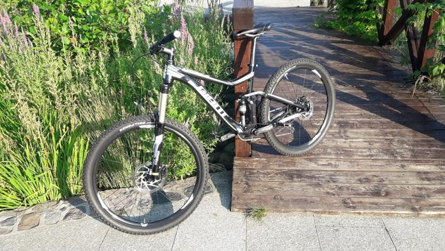 Giant Trance 4 27,5 M 2016 narrow wide trail Dartmoor rower full