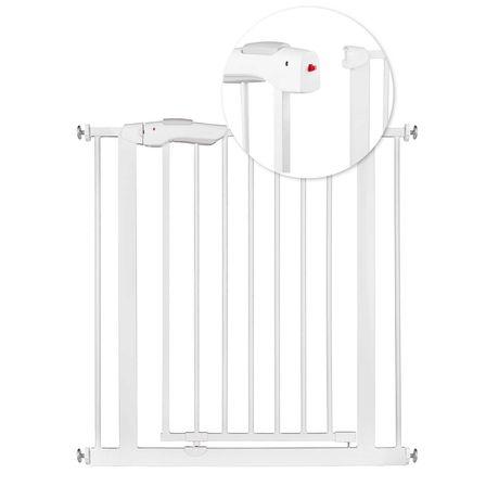Barierka zabezpieczająca bramka na schody i drzwi Ricokids biała