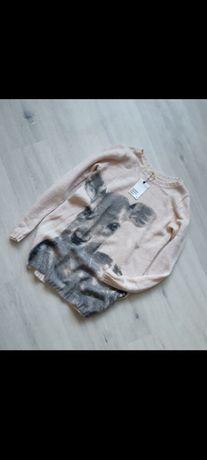 Джемпер,свитер с оленем от H&M