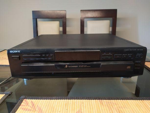 SONY CDP CE 315 odtwarzacz CD na 5 płyt -karuzela uszkodzony
