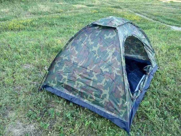 З вентеляційною сіткою палатка водонепроникна 4 місця 2*2,5