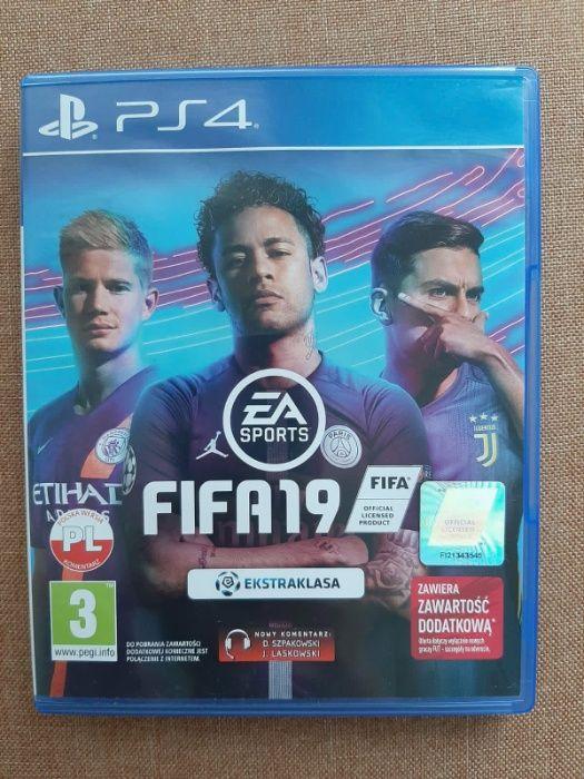 FIFA19 PS4 używana Warszawa - image 1