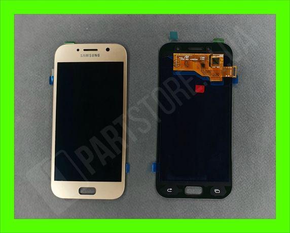 Дисплей модуль Samsung SM A520 OLED A5 Gold 2017