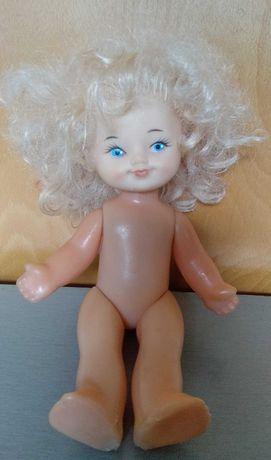 Кукла 27 см на резинках, СССР, Днепр
