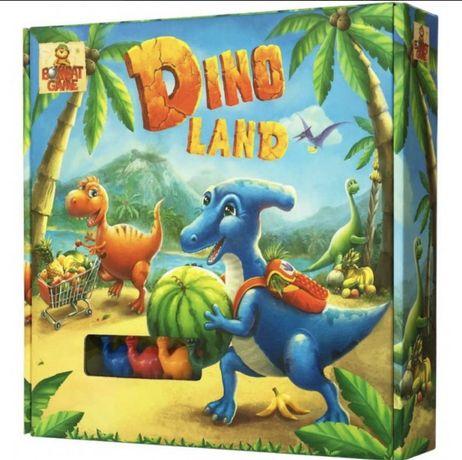 Игра для всей семьи Bombat Game Дино ленд, новая