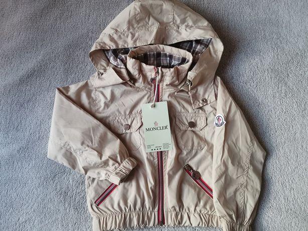 Куртка, Ветровка Монклер для мальчика от 1годика до 5 ле