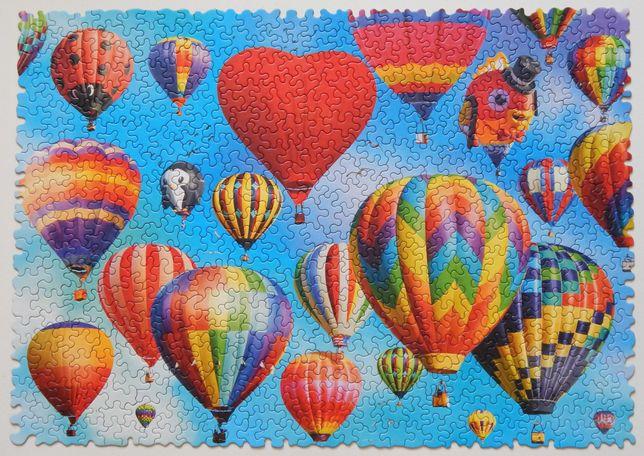 """Пазл Trefl Crazy Shapes """"Цветные шары """" 600"""