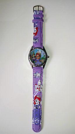 """Nowy zegarek """"Księżniczka Zosia""""."""