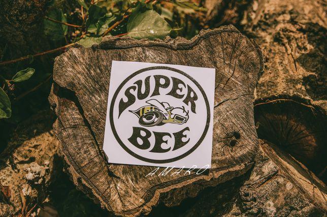 Autocolante para Carro Super Bee Nº2   NOVO