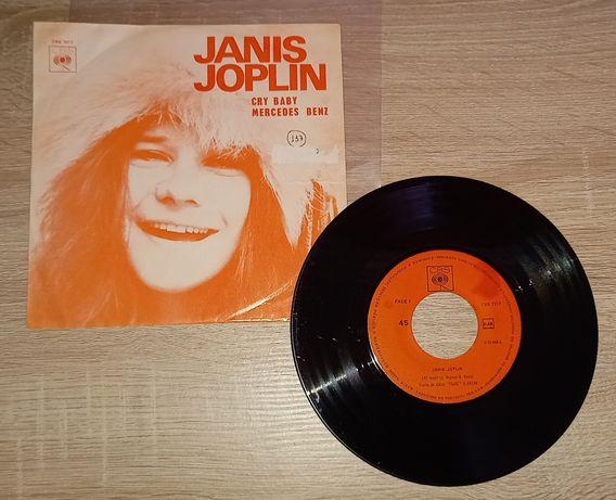 Vinil Janis Joplin Mercedes Benz Cry Baby Single