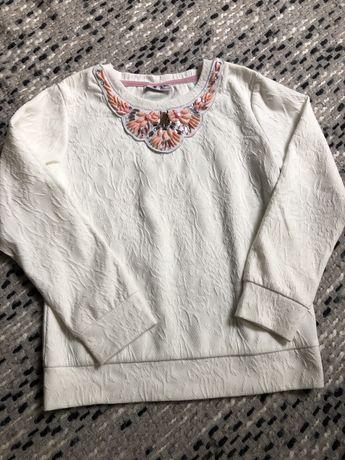 NEXT bluza ozdobiona 6-7 lat dziewczęca