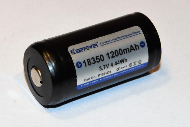 Akumulator 18350 3,7V 1200mAh (Made in Japan)