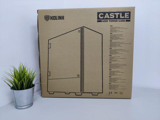Caixa Kolink Castle ATX - NOVO/SELADO