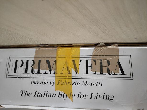 Primavera By Fabrizio Moretti Mozaika Szklana Diamentowa Srebrna A121