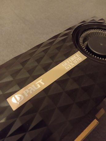 NVIDIA GeForce GTX 970 Palit sprawna cicha karta graficzna