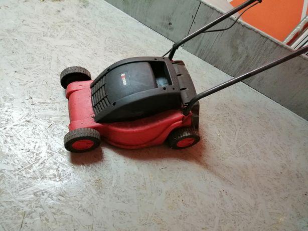 Corta relva eléctrico com cesto