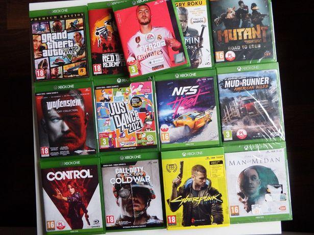 XBOX ONE / SERIES X FIFA 20 PL inne COD Cold War Cyberpunk Just Dance