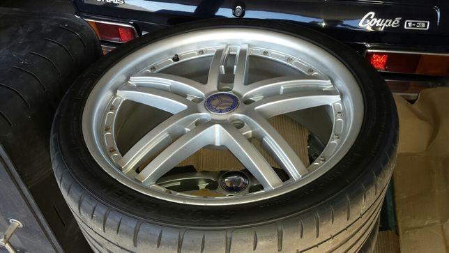 Jantes com pneus 255 35 R19