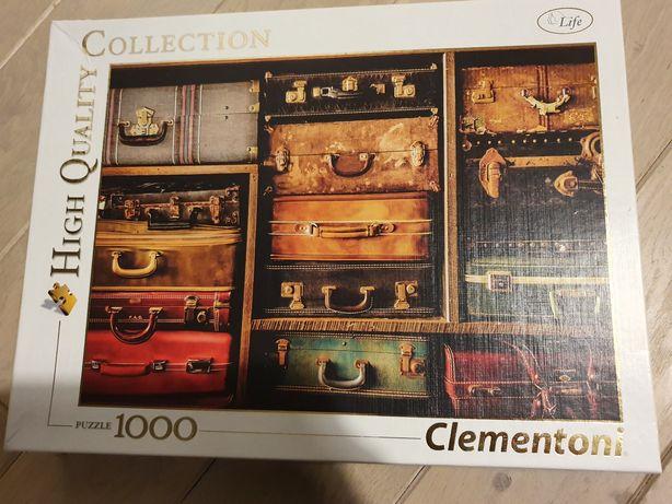 Clementoni 1000 walizki sprzedam