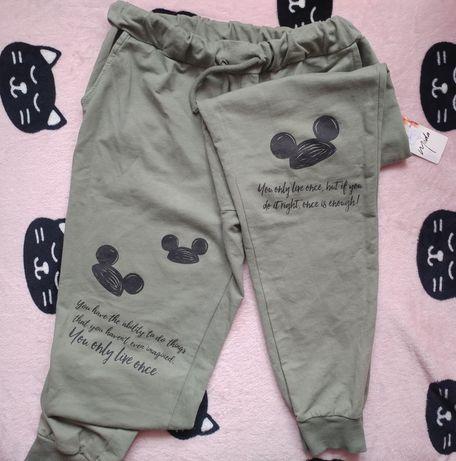 Spodnie dresowe myszka miki s/m/l