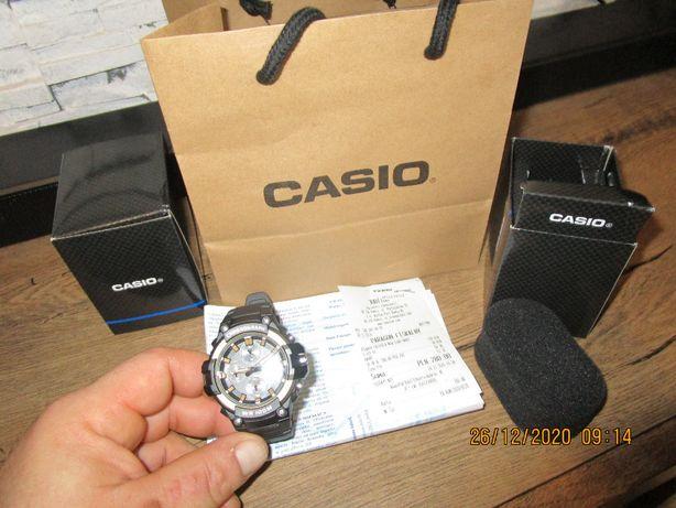 CASIO chronograf nowy męski