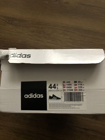 Buty adidas vl court 2.0