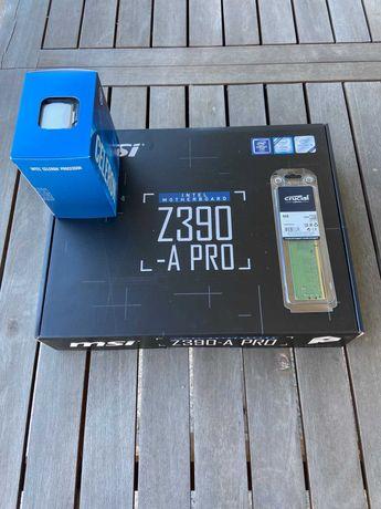 Mining Mineração Gaming – Celeron G4930+Board MSI Z390A Pro+8 Gb RAM