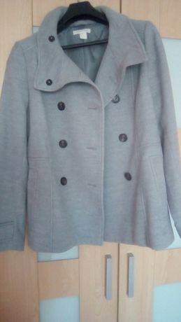 płaszcz kurtka z flauszu h&m nowy rozm. 44