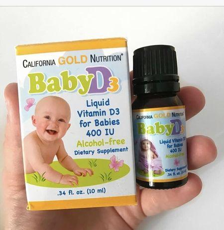 Витамин D3 iherb детский