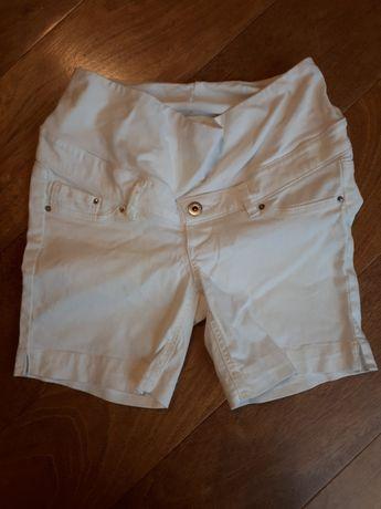 Krótkie spodenki ciążowe, szorty H&M 34