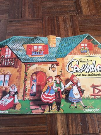 """Caderneta de cromos """"As minhas casinhas e os seus habitantes"""""""