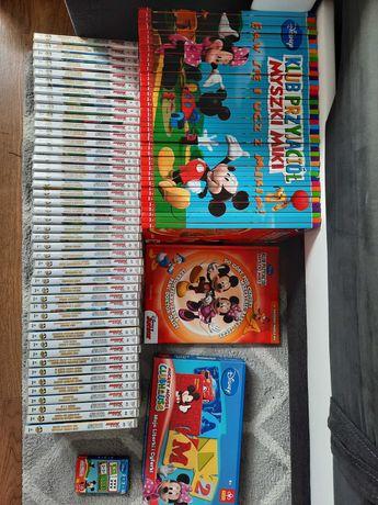 Disney Junior dvd Myszka Miki 45 szt filmów i książek i gratisy