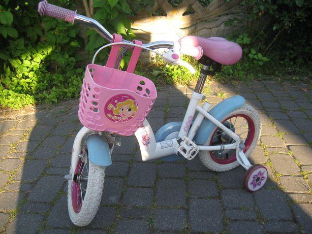 rowerek dla dziewczynki do nauki jazdy
