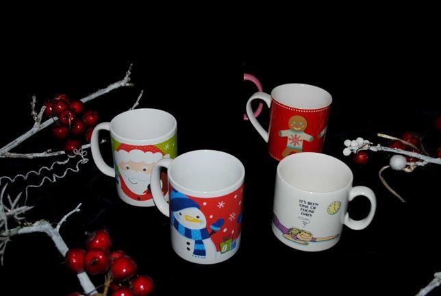 Чашки новогодние новые год эксклюзив яркие  кружка красная набор