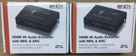 Lindy Extrator Áudio novos