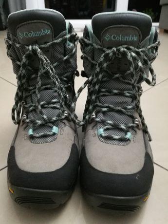 Buty damskie wysokie COLUMBIA r 37 wkładka 24 cm