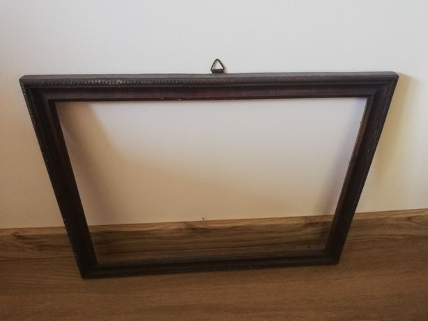 Stara drewniana rama 40x31 cm