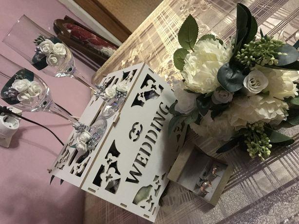 Коробка для грошей на весілля