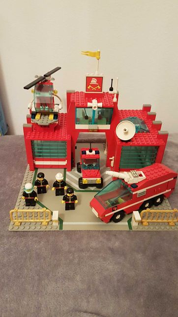Lego 6389 Fire Control Center straż pożarna, remiza