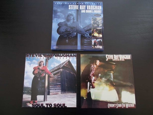 """SRV 'Couldn't stand the weather' i """"Soul to soul' - zestaw"""