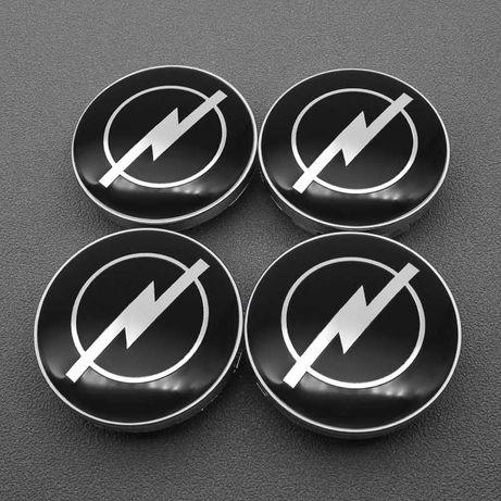 Centros/tampas de jante completos Opel com 56, 59, 60, 64, 65 e 68 mm