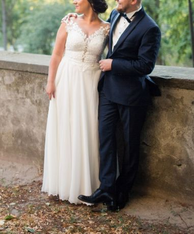 Suknia ślubna firmy Afrodyta, rozm 36