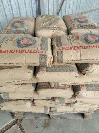 Продам цемент Новороссийский ПЦ 500 Д0, Амвросиевский ПЦ 400, ПЦ 500