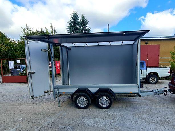 Przyczepa Brenderup Cargo/Drzwi sprzedażowe/Cargo/Kontener