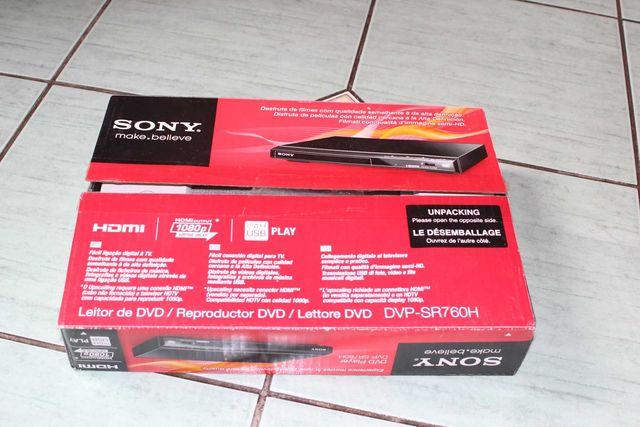 SONY Odtwarzacz DVD - DVP-SR760H - USB, HDMI, 1080p, XViD