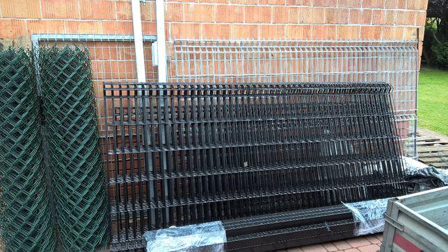 Panel ogrodzeniowy h 123 fi 4 mm ocynk plus kolor