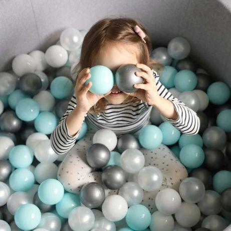Детский сухой бассейн с шариками Voodi. Для мальчика и для девочки.