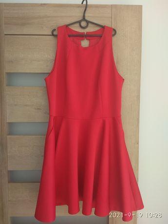 Czerwona sukienka 42/XL