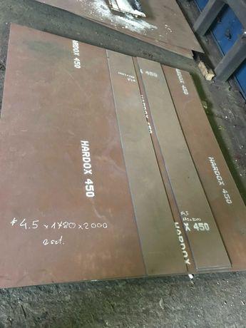 Blacha Hardox 450 Super Cena detale cięte na wymiar Hardox 500 Lemiesz