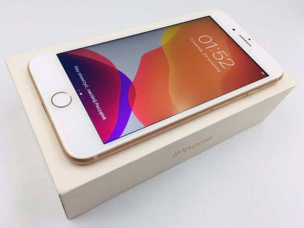 iPhone 8 PLUS 256GB GOLD • PROMOCJA • GWAR 1 MSC • AppleCentrum